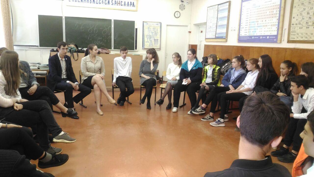 волонтеры Молодежного Координационного Центра «Меридиан»